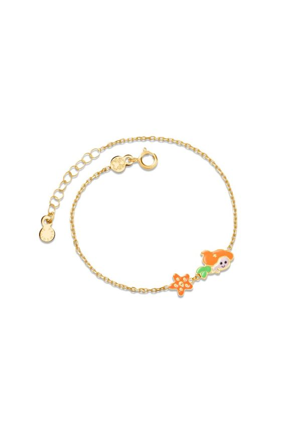 Bracelet Fiabe Little Mermaid and starfish