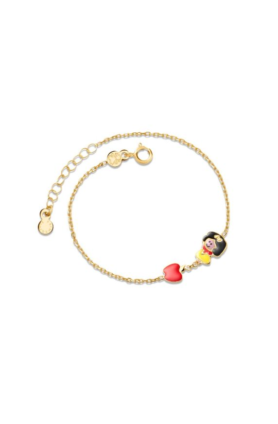 Bracelet Fiabe Snow White and apple
