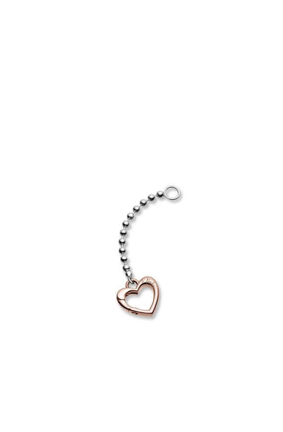Additional element to create a Y-shaped version with rose gold clasp