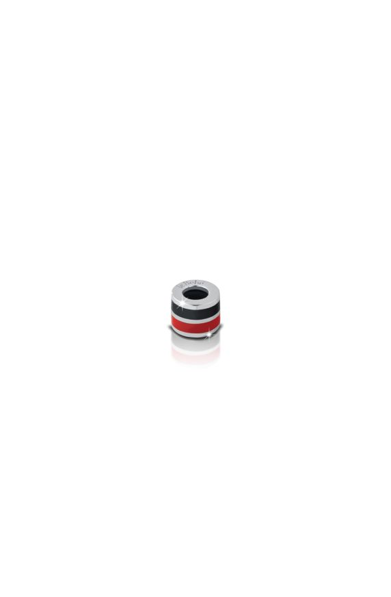Charm Cylinder red and black