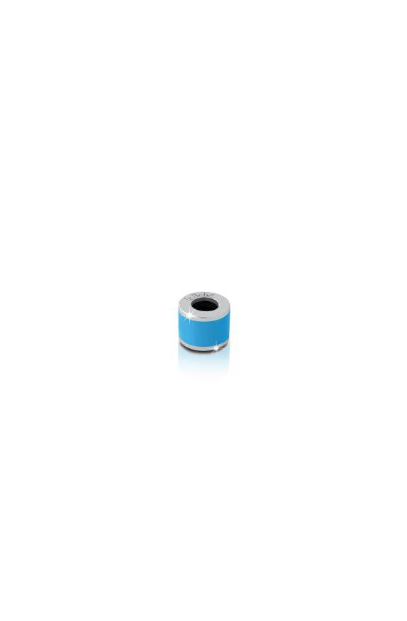 Charm Cilindro azzurro