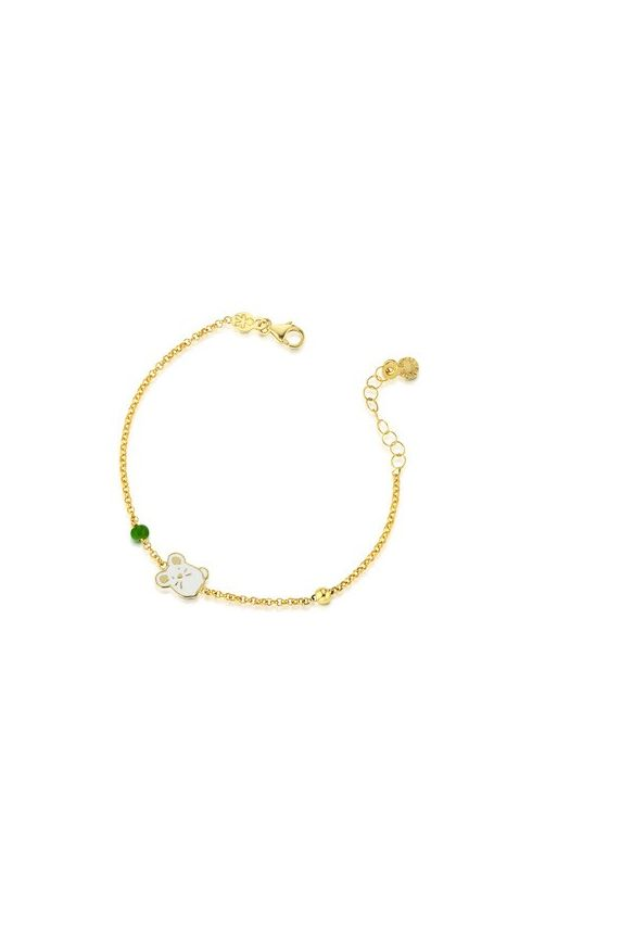 Fortuna Bracelet Yellow Gold  Mouse and Ball